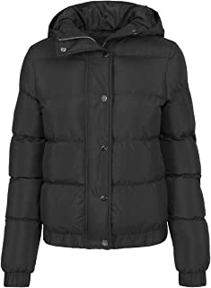 Urban Classics Mädchen Jacke Girls Hooded Puffer Jacket, Winterjacke, gefüttert, Daunenjacke erhältlich in 2 Farben, Größe...