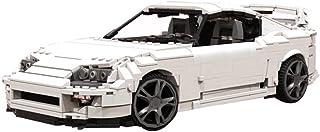 1744 PCS Building Block Classic White A80, Puzzle Toy Technic Super Racing RC Car Kit, Model Building Blocks Compatible wi...