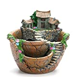 Ashley GAO Modelos Creativos Jardín Suculenta Maceta Micro Paisaje Resina Macetas Artesanías Decoración de Escritorio Suministros de Jardín