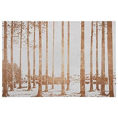 Rivet Copper-Toned Photo Print of Sunrise Through the Trees 36  x 24