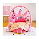 WWZL Babysitz Baby Support Sitz Lernsitz Kissenstuhl Kissen Hüpfer Fütterung Kissen Plüschtier Geschenk,Rosa