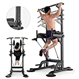 Home Weight Bed Indoor Parallel Barbell Bracket Rack Multifunctional Squat Rack Fitness Exercise Dumbbell Rack Can Bear 300Kg Strength Training Weight Bench,White