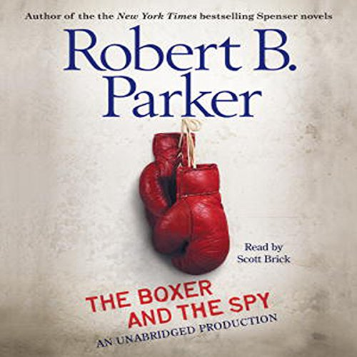 The Boxer and the Spy  audiobook cover art