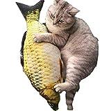 Clara Tracy Realistische Katzen Spielzeug Fisch Form Katzenminze Minze Kissen Haustier Interaktives...