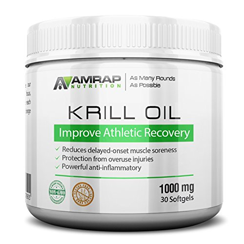 AMRAP Nutrition Omega 3 Krill Oil 30 softgels 1000 mg