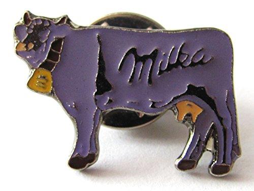 Milka - Lila Kuh - Pin 20 x 15 mm