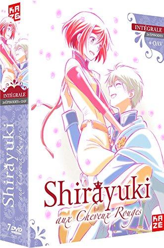 Coffret shirayuki aux cheveux rouges, 24 épisodes ; oav [FR Import]
