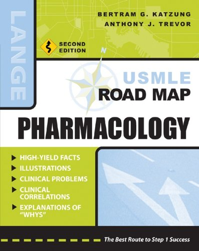 USMLE Road Map Pharmacology, Second Edition (LANGE USMLE Road Maps)