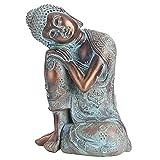 Estatua de Buda Decoración de Estilo del Sudeste Asiático Estatuas de Buda Escultura Pintada a Mano ...