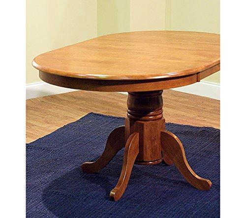 TMS Furniture 69407OAK Farmhouse Dining Table