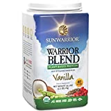 Sunwarrior Warrior Blend Vanille, 1er Pack (1 x 1 kg)