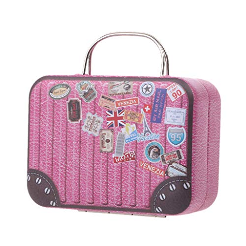 Haayward - 1 Pcs Doll Toys Trunk Accessories, Dollhouse Furniture Box, Candy Box, Cake Decoration, Jewellery Box, Kid Gift Box Arts and Crafts
