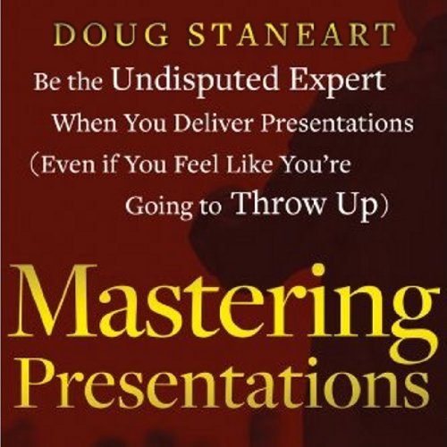 Mastering Presentations audiobook cover art