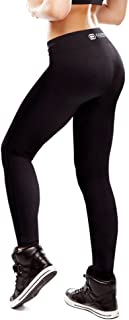 Copper Compression Womens Leggings - High Waist Tights, Yoga Pants Women