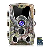 crenova 20MP Wildlife Hunting Trail Camera with 32GB SD Card Included (Camouflage)