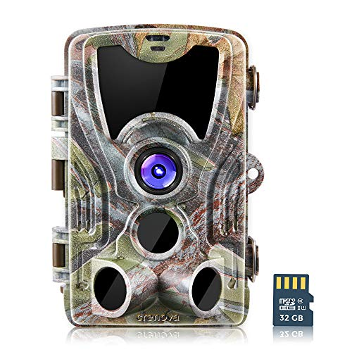 crenova 20MP Wildlife Hunting Trail Camera with 32GB SD Card Included...