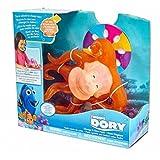 Buscando a Dory - Juguete con Sonido Hank Cambia de Color, Color Rojo (Bandai 36450)