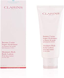 Clarins Moisture Rich Body Lotion with Shea Butter, 6.5 Ounce