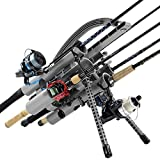 Rod-Runner Fishing Rod Carrier Pro 5 Portable Rod Rack