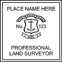 ロードアイランド州測量スタンプ。