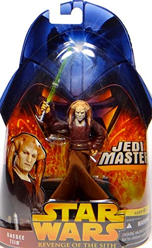 Saesee Tiin Jedi Master No.30 Star Wars Revenge of the Sith Collection 2005 Hasbro