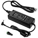 ALITOVE AC 100-240V to DC 24V 5A Power Supply Adapter Converter with 5.5 x 2.1mm 2.5mm DC Output Jack for 5050 3528 LED Strip Module Light