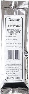 Dilmah Exceptional Fragrant Jasmine Green Tea Loose Leaf Refill, 100 Grams