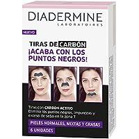 Diadermine Tiras de carbón - 6 Unidades