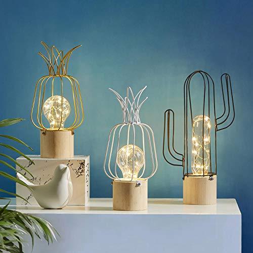 Licht Tafellamp Cactus Ananas Nachtlampje Woonkamer Decoratie Nachtlampje