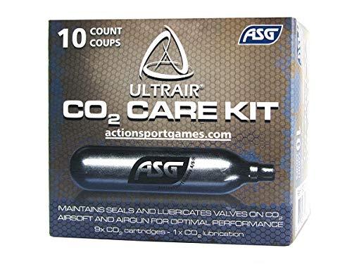 ASG Gas CO2 ULTRAIR 12G,CONF. 10PZ.-9 Normali E 1 LUBRIFICANTE-