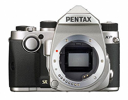 Buy Cheap Pentax KP Silver Body 24.32 Ultra-Compact Weatherproof DSLR with 3 LCD, (Silver)