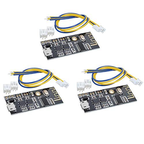 HiLetgo - Set di 3 ricevitori M38 wireless Bluetooth MP3, audio Receiver Board BLT 4.2 mp3 Lossless decoder Bluetooth 4.2 Audio Receiver Board Wireless Stereo Sound Module