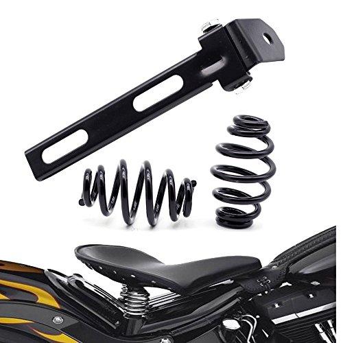 Schwarze Motorrad Solo Sitz Feder Halterung Bracket
