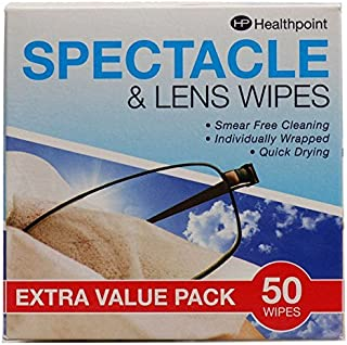 Healthpoint SPECTACLE & LENS WIPES