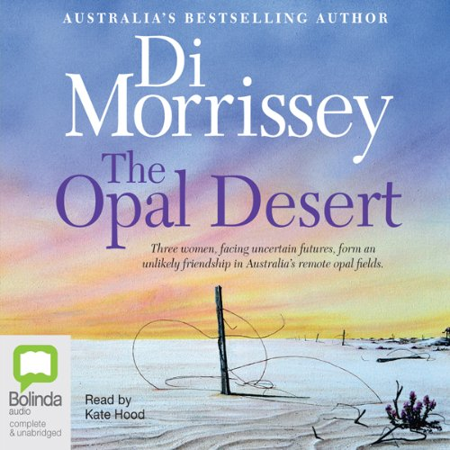 The Opal Desert audiobook cover art