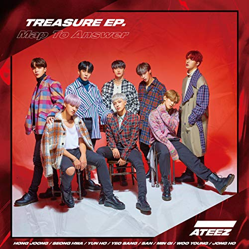 [album]TREASURE EP. Map To Answer – ATEEZ[FLAC + MP3]
