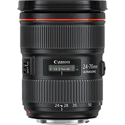 Canon Zoomobjektiv EF 24-70mm F2.8L II USM für EOS (82mm Filtergewinde) schwarz