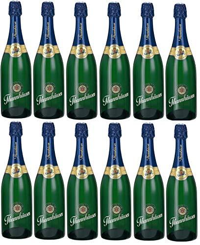 12 Flaschen a 0,75l Thannhäuser Jahrgangssekt halbtrocken 11% vol.