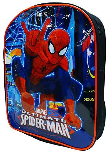Jungen Mädchen Tasche Verschiedene Charakter Schulrucksack Schwimmen Rucksack Mittagessen Reise - Spiderman, Spiderman