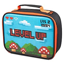 GAMING INSPIRED. Help your little one to level up lunch times with this interactive lenticular lunch bag, matching bottle available. PERFECT FOR LITTLE ONES ON THE GO. Portable insulated lunch bag with a padded handle, ideal for carrying in by hand o...