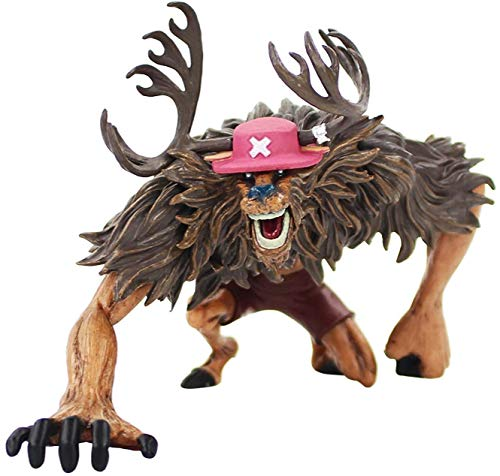 One Piece Doll Dx Rumble Ball Monster Point Tony Tony Chopper, PVC Character Model Animation Character Collection Model Size is About 9.5 cm