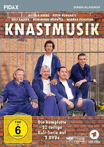 Knastmusik / Die komplette 32-teilige Kult-Serie mit Starbesetzung (Pidax Serien-Klassiker) [5 DVDs]