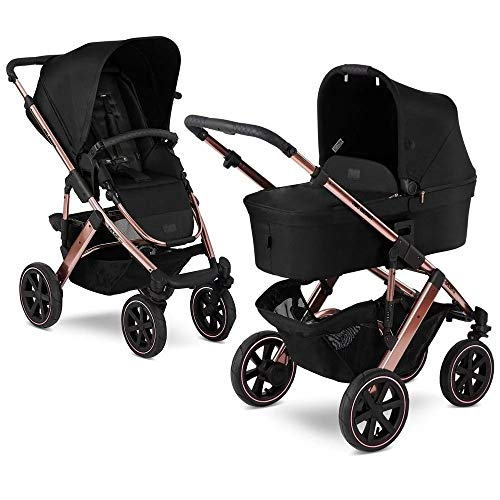Kinderwagen Buggy Kombikinderwagen ABC DESIGN SALSA 4 AIR Kollektion 2020 (DIAMOND ROSE GOLD, 2IN1)
