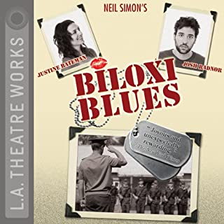 Biloxi Blues                   By:                                                                                                                                 Neil Simon                               Narrated by:                                                                                                                                 Justine Bateman,                                                                                        Josh Radnor,                                                                                        Rob Benedict,                   and others                 Length: 1 hr and 52 mins     37 ratings     Overall 4.0
