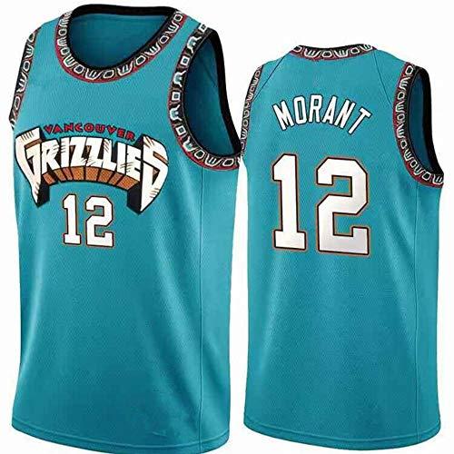 Los Hombres De Camiseta De La NBA Memphis Grizzlies Ja Morant 12 Respirable Cómodo del Chaleco D-XL