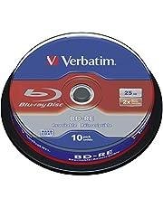 Verbatim 43694 - Disco BD-R de 25 GB, 2X