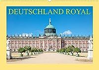 Deutschland royal (Wandkalender 2022 DIN A2 quer): Brillante Fotografien von prachtvollen Schloessern und Burgen (Monatskalender, 14 Seiten )