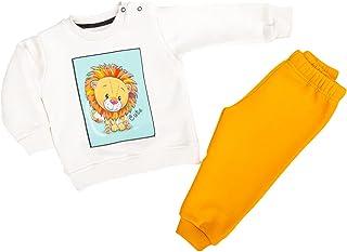Jockey baby milton pijama set printed lion for boys-20/24Month-Orange