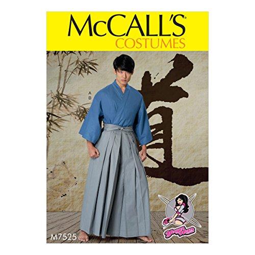 McCall 's Patterns Schnittmuster/Herren/Kostüm Teen Jungen, Mehrfarbig, Größen S-XXL