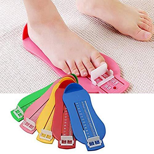 BeesClover Baby Foot Jauge de Mesure Jouets Chaussures Taille Outil de Mesure Convient pour Enfants 0–8Ans